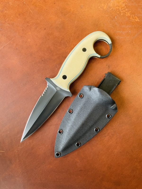 THE RAVEN KNIFE FOR POCKET CARRY (NATETHEBLADEMAKER.COM)